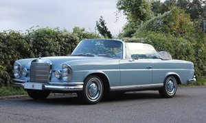 1967 – MERCEDES BENZ – 250 SE Cabriolet For Sale