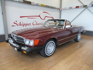 Picture of 1985 Mercedes 380SL Pajettrot Metallic For Sale