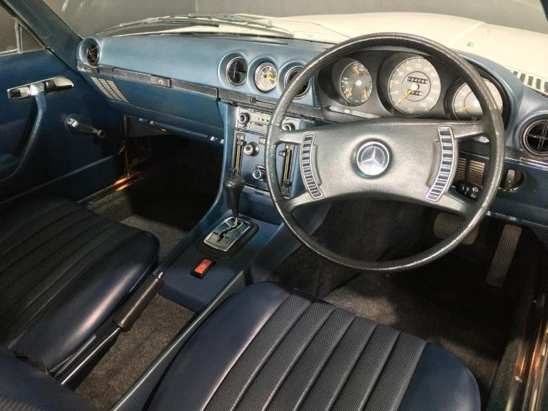 1972 Mercedes 350SL (R107) Roadster- Auto H&S RHD For Sale (picture 2 of 6)