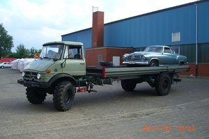 1967 Unimog 406 / 416 car hauler
