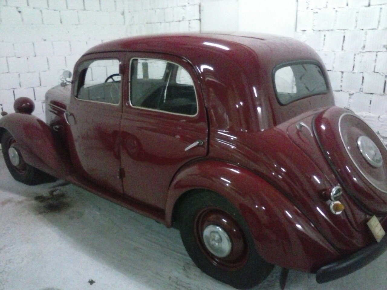1938 Mercedes 170d LHD For Sale (picture 2 of 3)