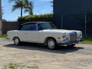# 23289 Restored 1971 Mercedes-Benz 280SE 3.5 Cabriolet: