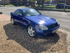 1999 Mercedes slk 230 kompressor auto