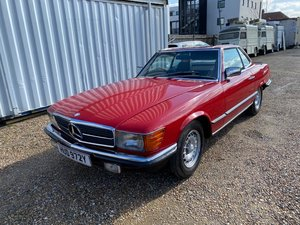 1983 MERCEDES-BENZ 500SL (R107)           LOT: 266