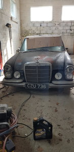 Picture of 1969 300sel 6.3 Barn Find
