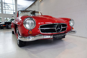 1960 AUS del., immcaulate 190 SL in Fire Red, very good history For Sale