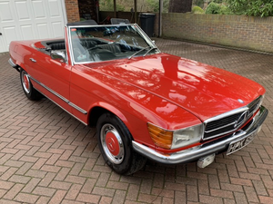 1971 Mercedes-Benz 350SL - The 6th R107 delivered to the UK