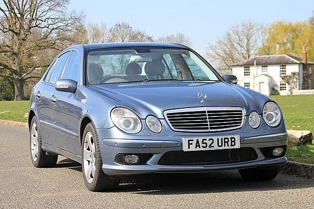 2003 Mercedes Benz E500 AMG with AMG Panoramic roof For Sale (picture 1 of 6)