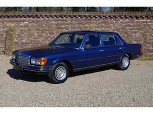 1978 Mercedes-Benz 350 SEL 3.5 V8 W116 Full options, only 110.000