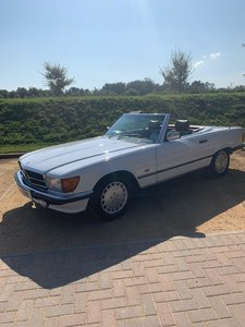 1989 300 SL. 75000 miles. FSH. N/mint original condition. For Sale