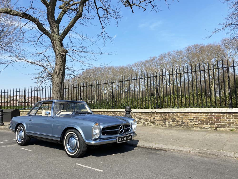 1968 Mercedes Benz 280SL - fully restored For Sale (picture 1 of 24)