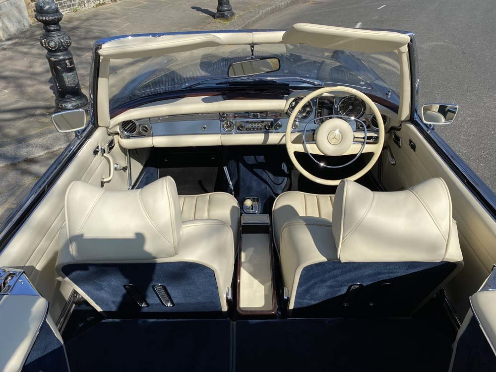 1968 Mercedes Benz 280SL - fully restored For Sale (picture 2 of 24)