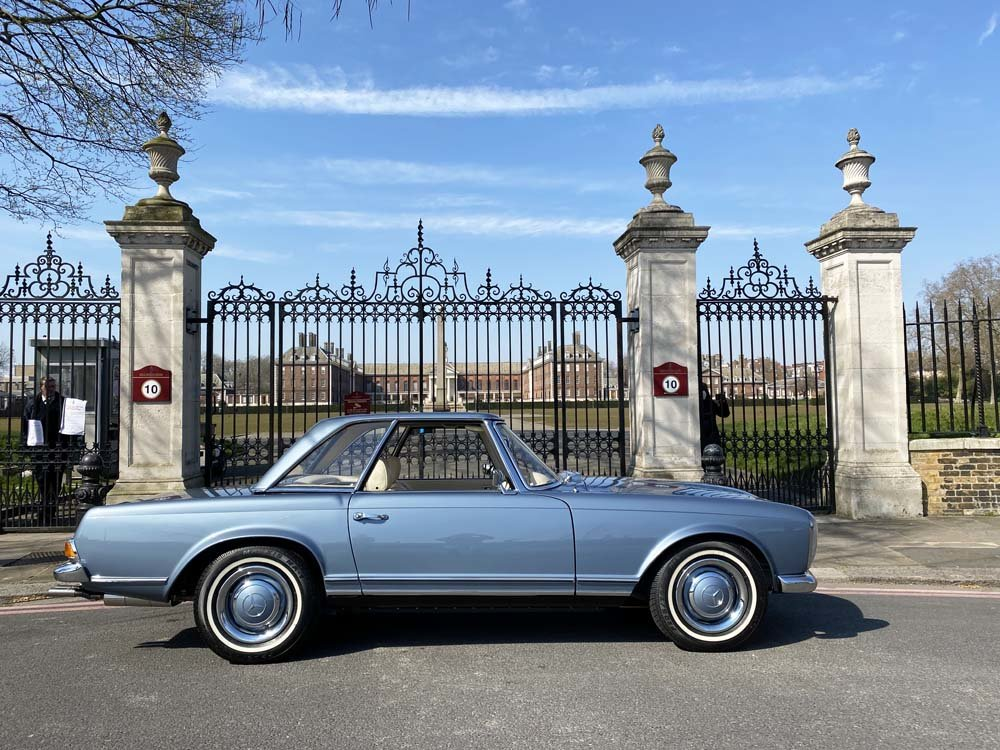 1968 Mercedes Benz 280SL - fully restored For Sale (picture 3 of 24)