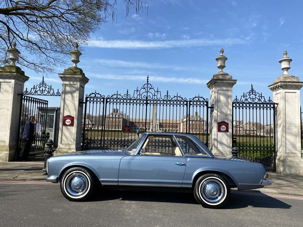 1968 Mercedes Benz 280SL - fully restored For Sale (picture 4 of 24)