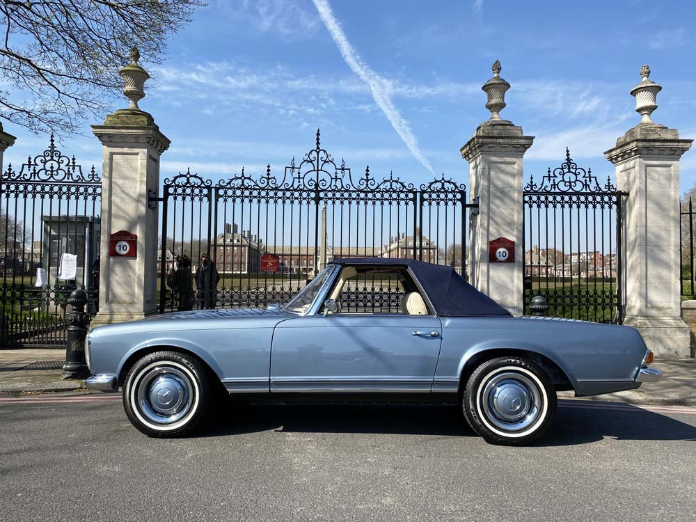 1968 Mercedes Benz 280SL - fully restored For Sale (picture 6 of 24)
