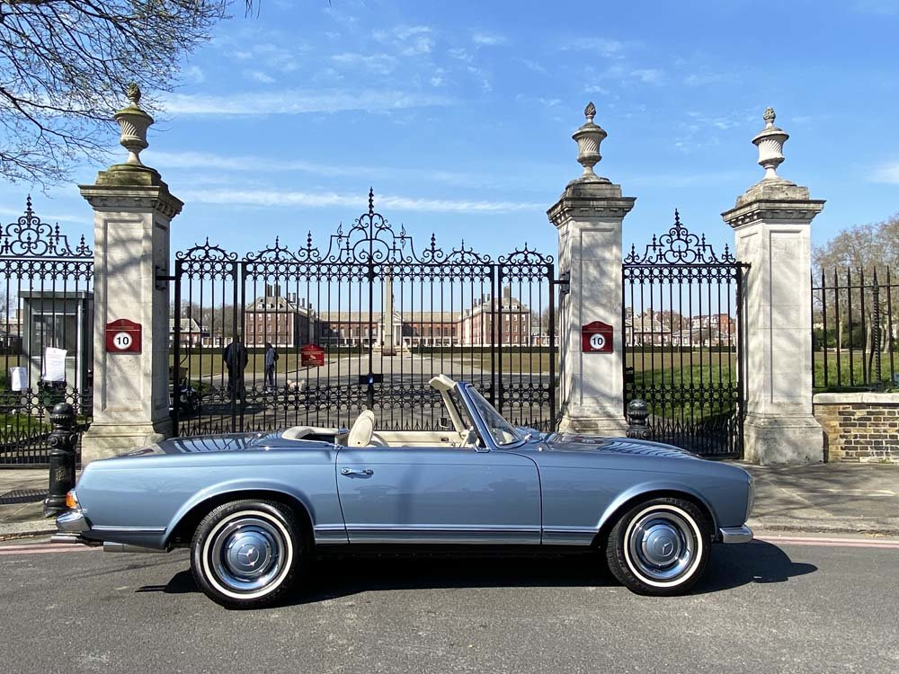 1968 Mercedes Benz 280SL - fully restored For Sale (picture 7 of 24)