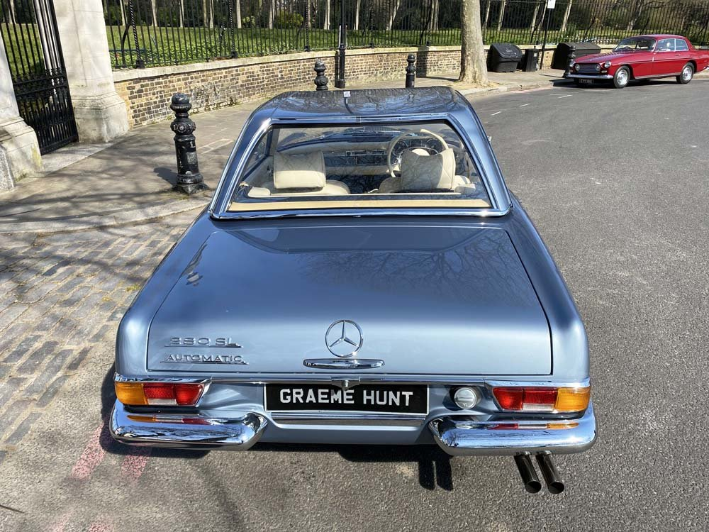 1968 Mercedes Benz 280SL - fully restored For Sale (picture 9 of 24)