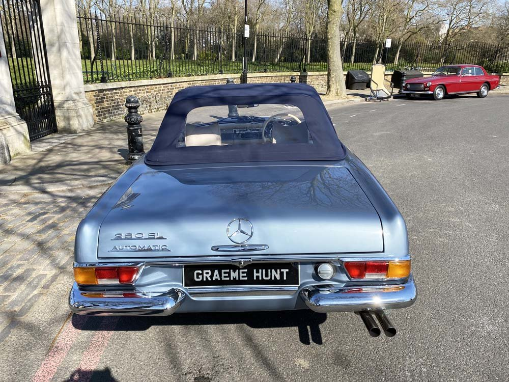 1968 Mercedes Benz 280SL - fully restored For Sale (picture 10 of 24)
