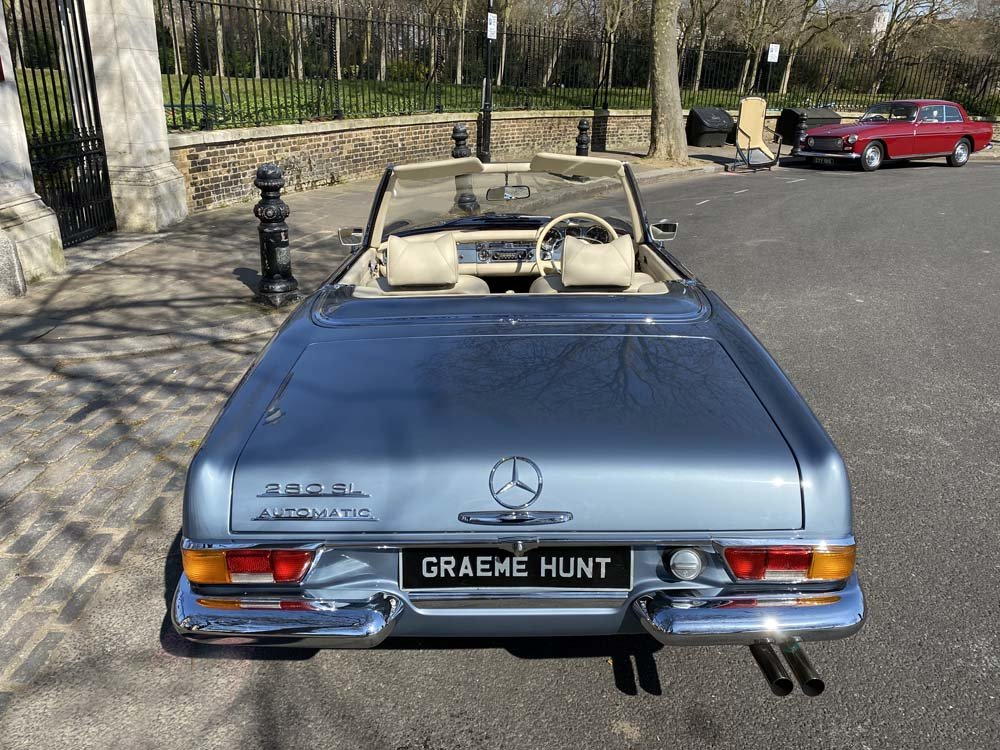 1968 Mercedes Benz 280SL - fully restored For Sale (picture 11 of 24)