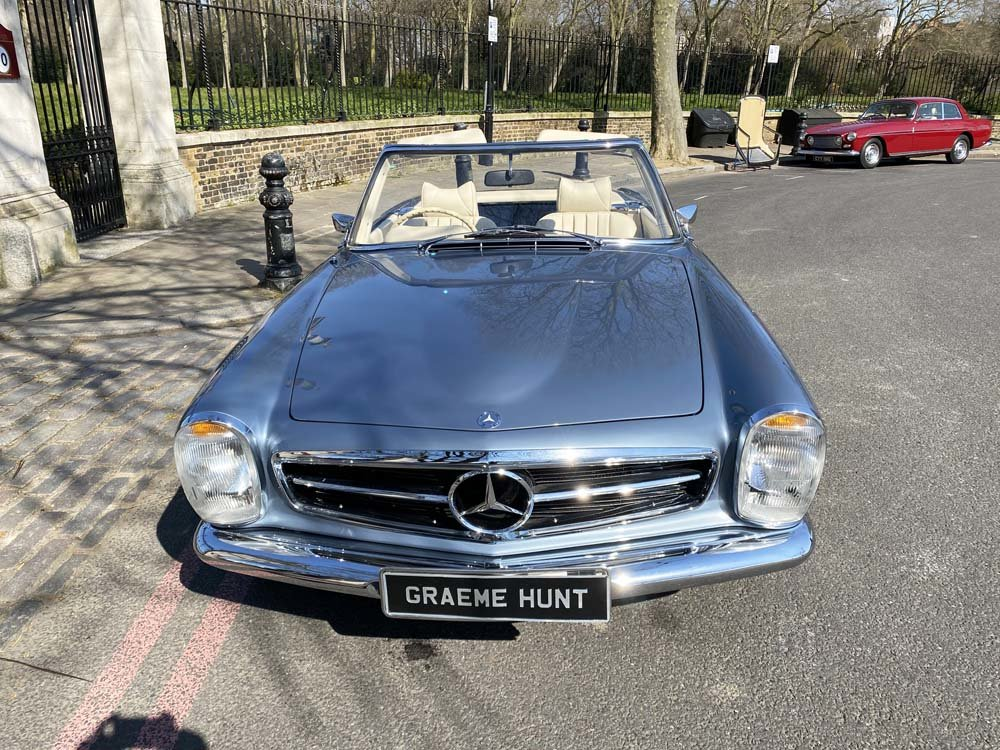 1968 Mercedes Benz 280SL - fully restored For Sale (picture 13 of 24)
