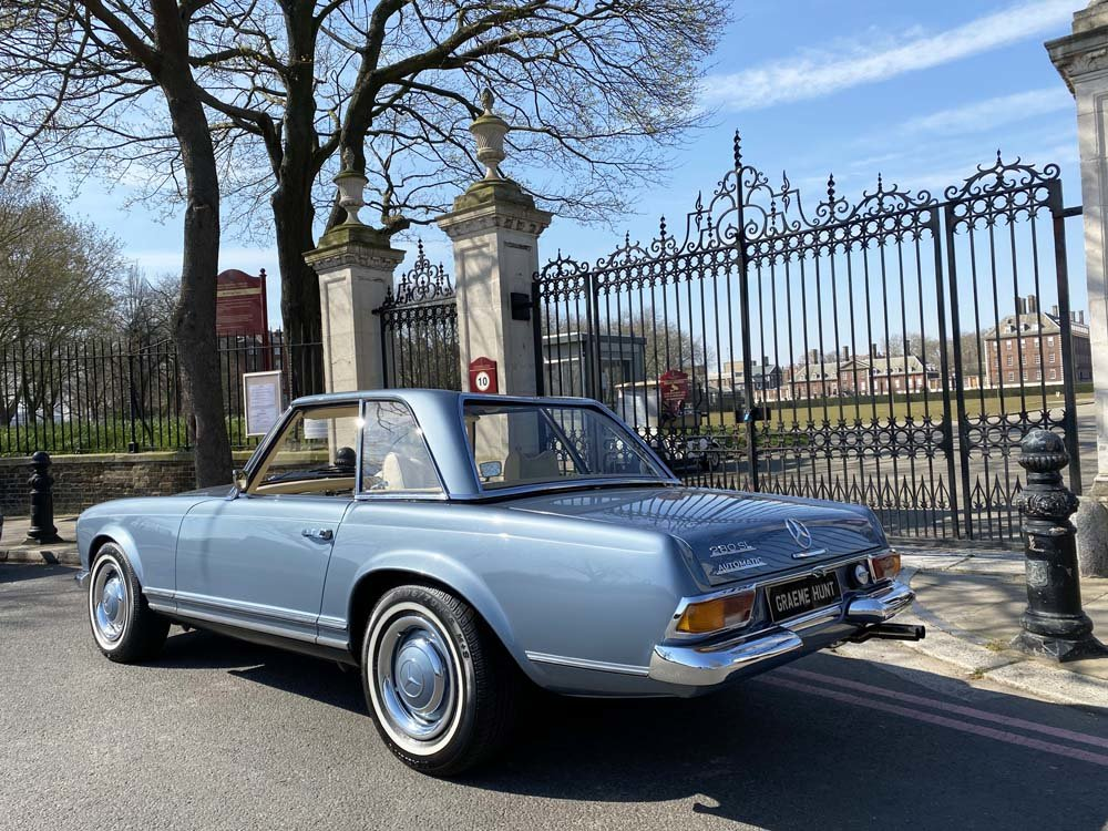 1968 Mercedes Benz 280SL - fully restored For Sale (picture 14 of 24)