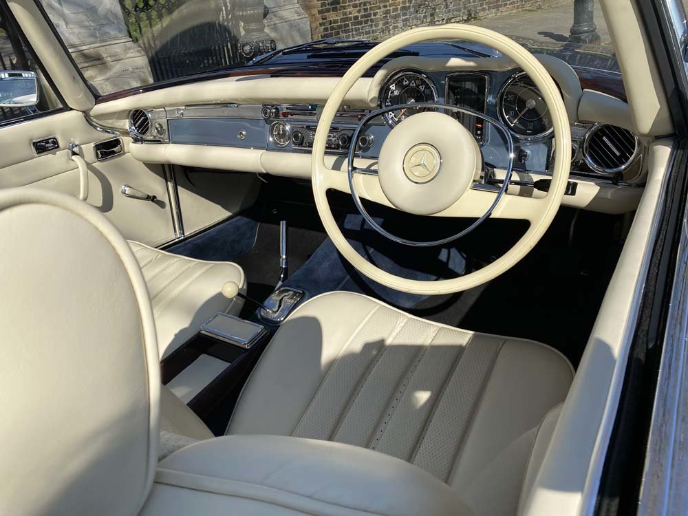 1968 Mercedes Benz 280SL - fully restored For Sale (picture 16 of 24)