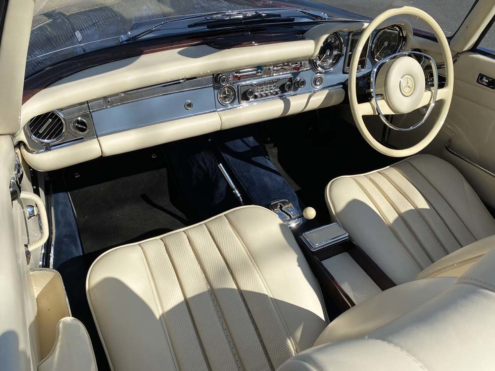 1968 Mercedes Benz 280SL - fully restored For Sale (picture 17 of 24)
