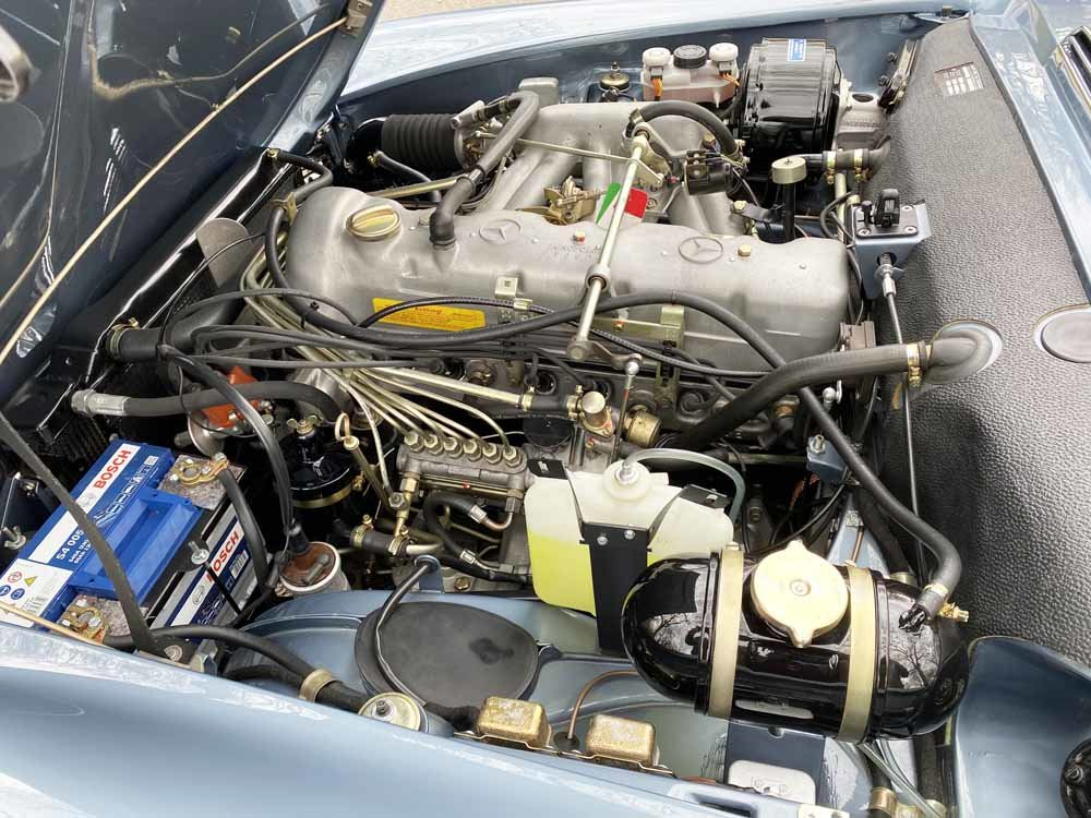 1968 Mercedes Benz 280SL - fully restored For Sale (picture 20 of 24)