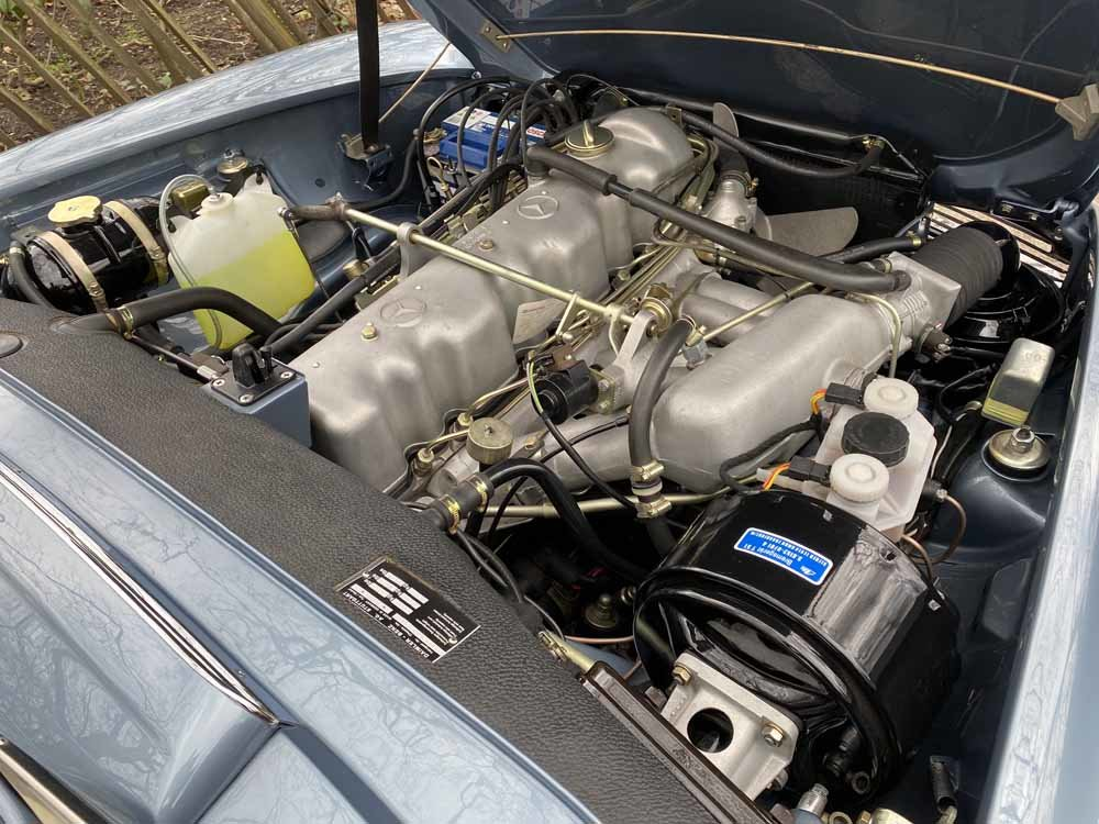 1968 Mercedes Benz 280SL - fully restored For Sale (picture 21 of 24)