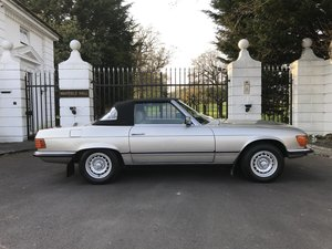 1985 Mercedes-benz sl r107 280sl auto hard + soft tops