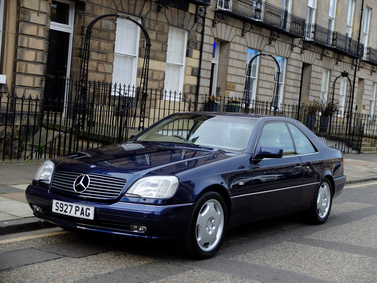1998 MERCEDES CL 420 - VERY ORIGINAL - JUST 33K MILES - STUNNING  SOLD (picture 1 of 6)