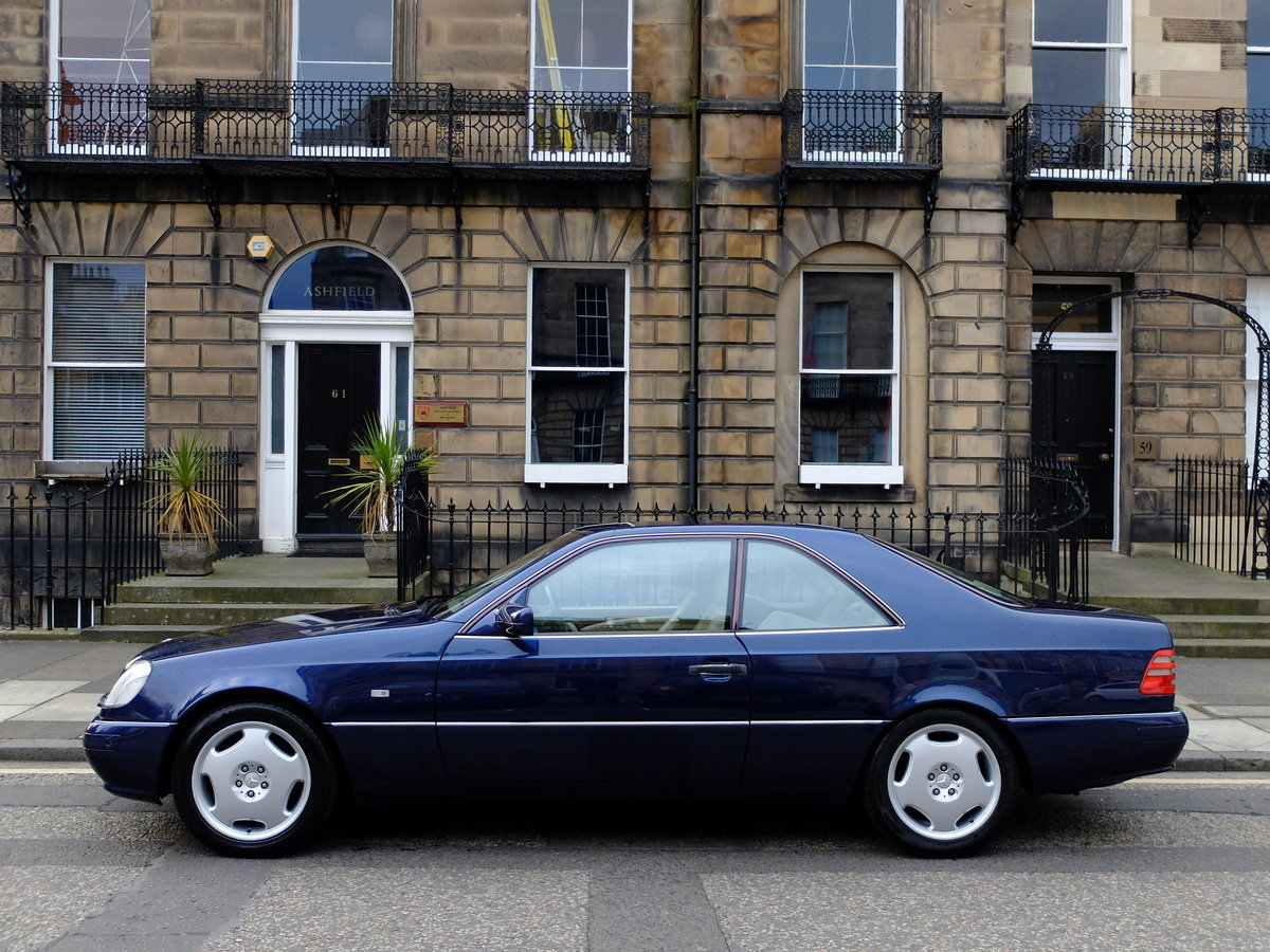 1998 MERCEDES CL 420 - VERY ORIGINAL - JUST 33K MILES - STUNNING  SOLD (picture 3 of 6)