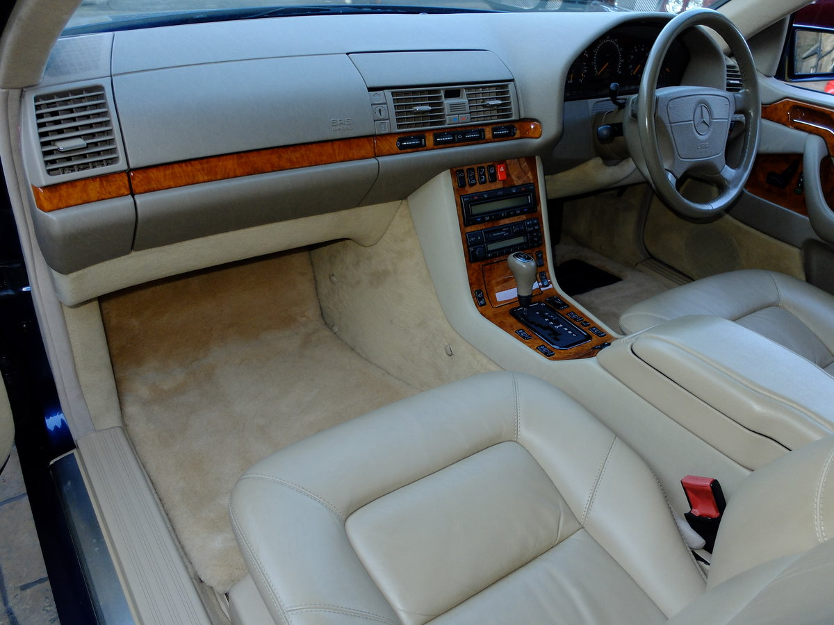 1998 MERCEDES CL 420 - VERY ORIGINAL - JUST 33K MILES - STUNNING  SOLD (picture 4 of 6)