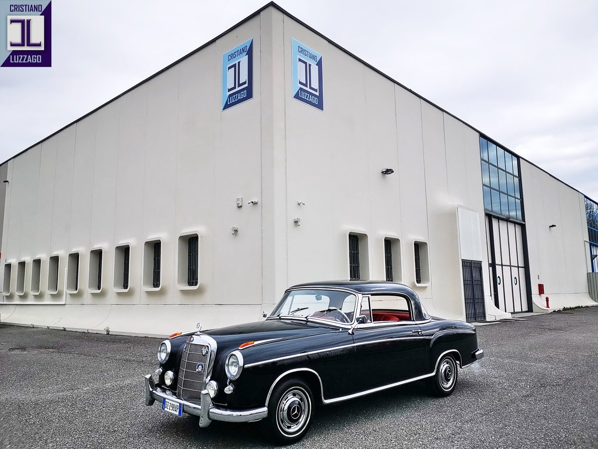 1959 MERCEDES 220 SECOUPE,85k GENUINE Miles euro 59800 For Sale (picture 1 of 6)