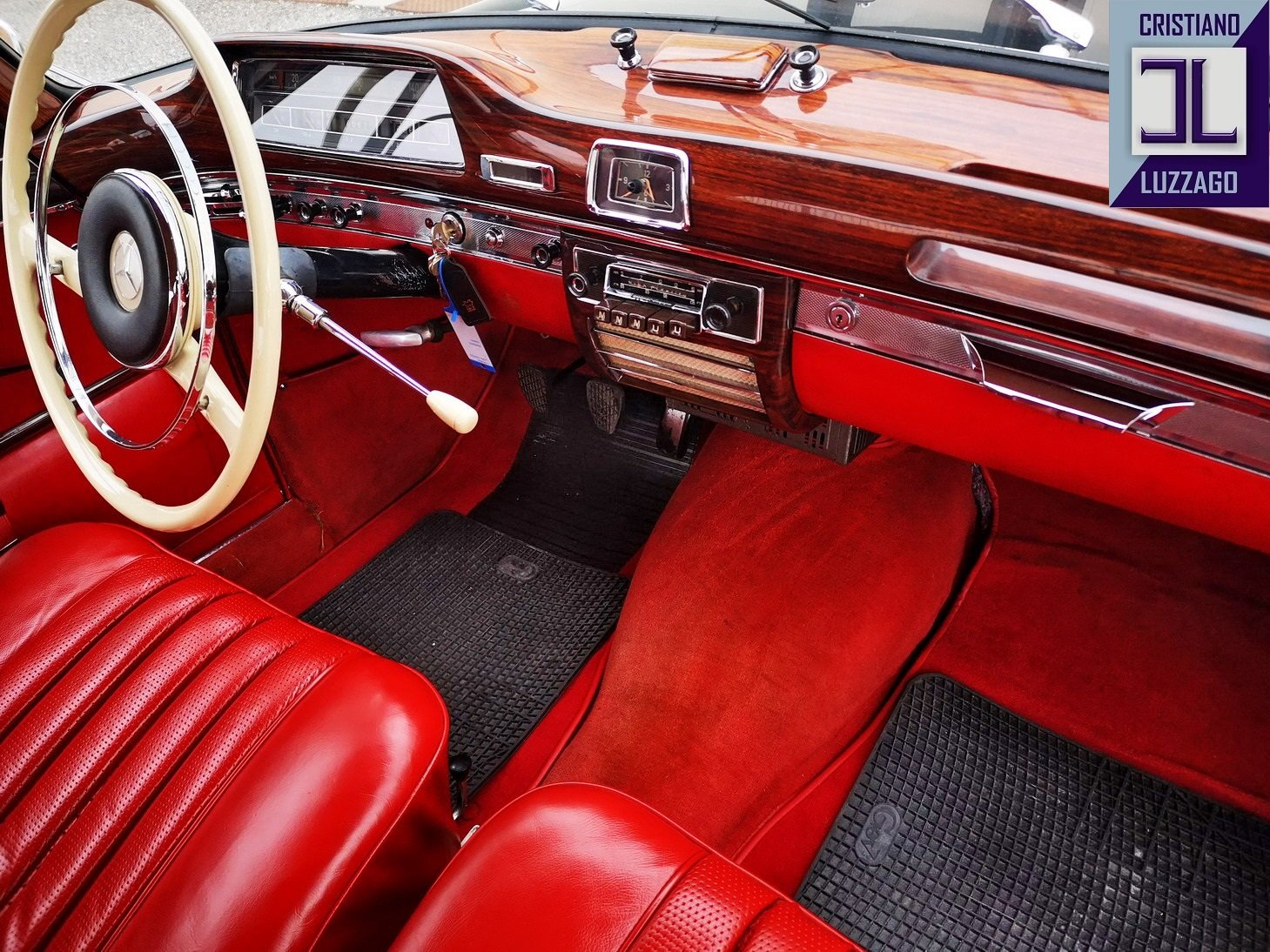 1959 MERCEDES 220 SECOUPE,85k GENUINE Miles euro 59800 For Sale (picture 3 of 6)