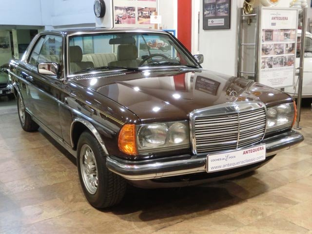 MERCEDES BENZ 230CE W123 COUPE - 1980 For Sale (picture 1 of 6)