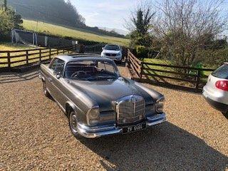 1966 Mercedes 280 SE Coupe( SEB) 2 Door Coupe 1969