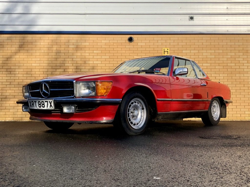 1982 MERCEDES-BENZ 380 SL  // 218 BH // px Swap For Sale (picture 1 of 10)
