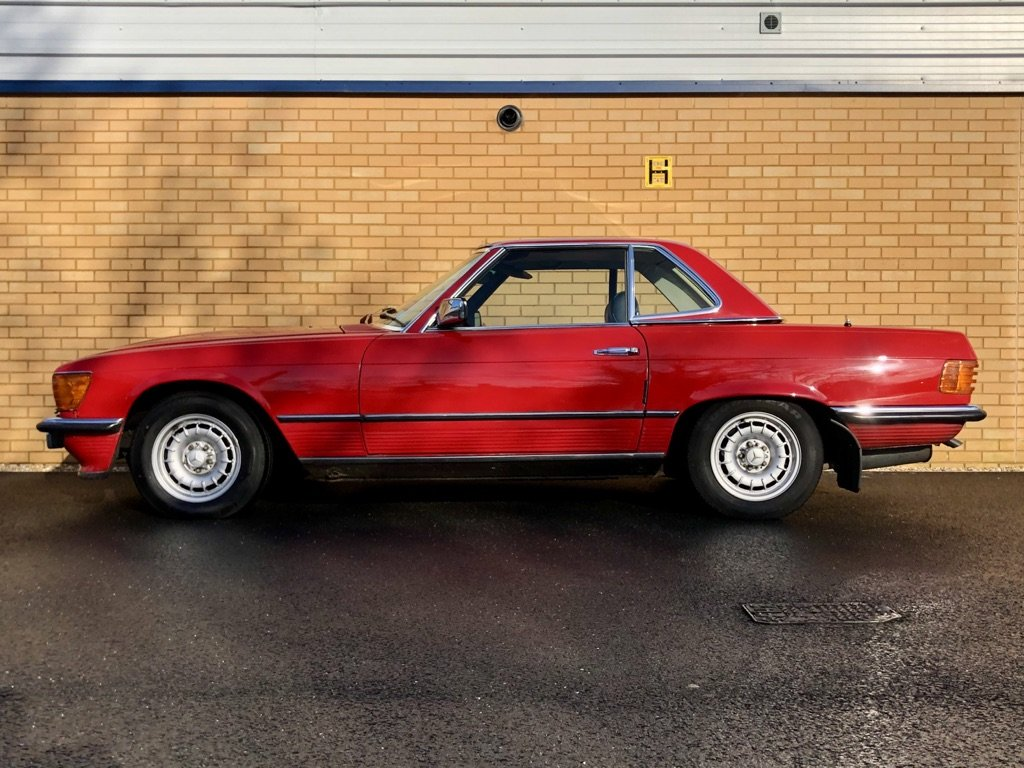 1982 MERCEDES-BENZ 380 SL  // 218 BH // px Swap For Sale (picture 2 of 10)