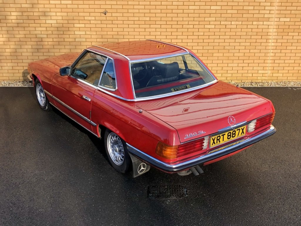 1982 MERCEDES-BENZ 380 SL  // 218 BH // px Swap For Sale (picture 3 of 10)