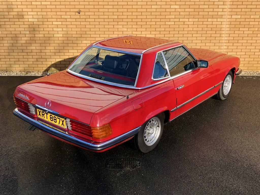 1982 MERCEDES-BENZ 380 SL  // 218 BH // px Swap For Sale (picture 4 of 10)