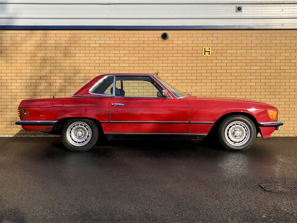 1982 MERCEDES-BENZ 380 SL  // 218 BH // px Swap For Sale (picture 5 of 10)
