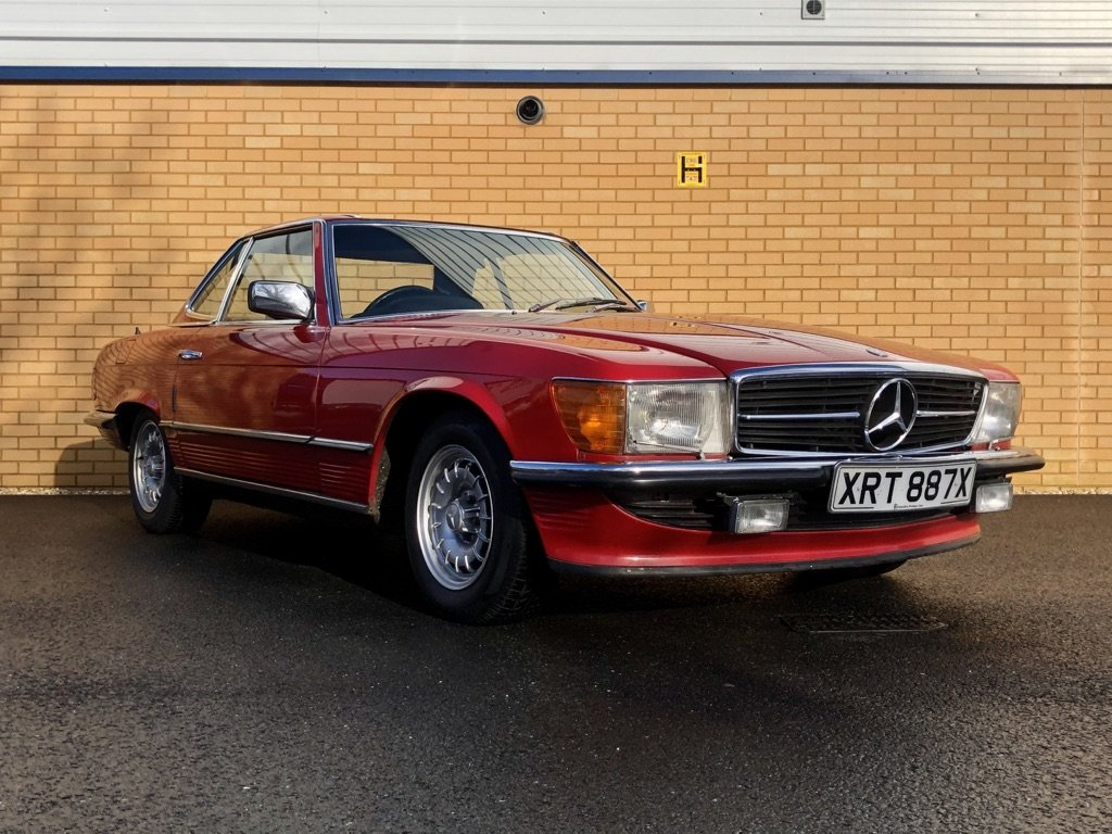 1982 MERCEDES-BENZ 380 SL  // 218 BH // px Swap For Sale (picture 6 of 10)