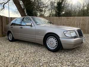 1997 LOW MILEAGE MERCEDES BENZ S320 3.2