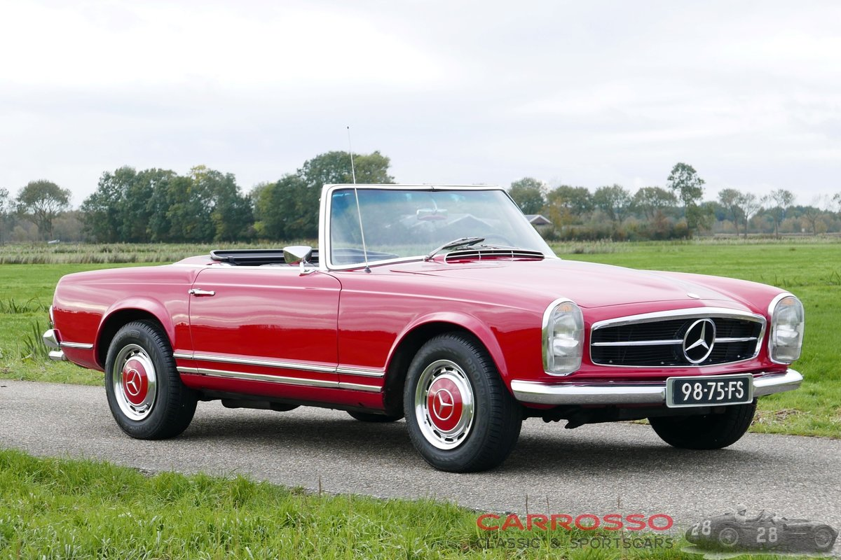 1968 Mercedes Benz 280 SL Pagode originally Dutch delivered For Sale (picture 1 of 6)