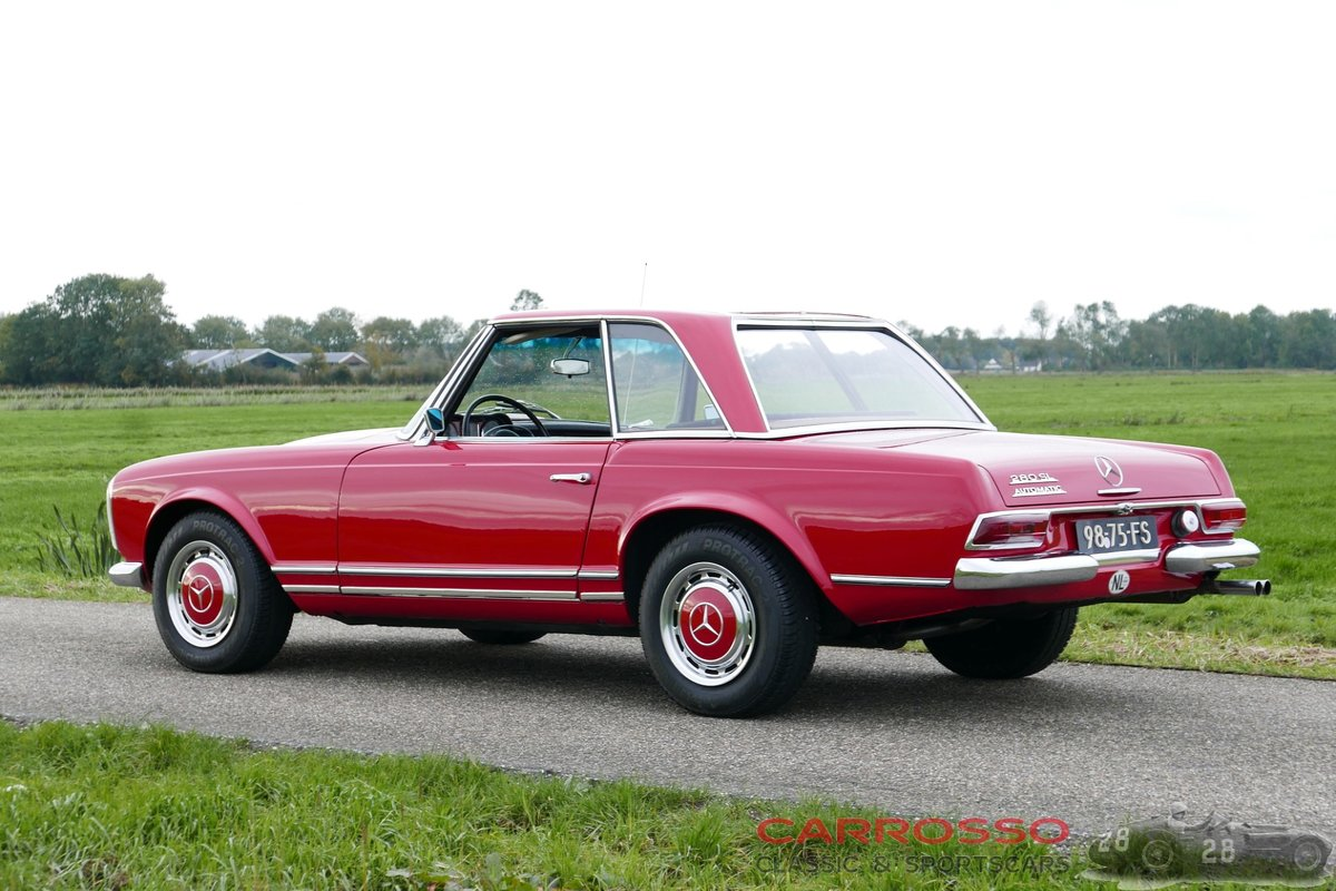 1968 Mercedes Benz 280 SL Pagode originally Dutch delivered For Sale (picture 2 of 6)