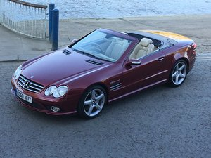 Mercedes SL55 AMG 2006/56 Auto last of the sought after cars