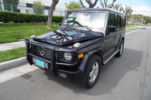 Orig CA owner 2002 Mercedes G500 5.0L V8 SUV SOLD