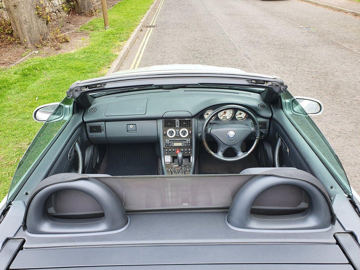 2002 MERCEDES SLK 320 (V6) ROADSTER  SOLD (picture 4 of 6)