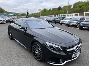 2016 16 MERCEDES S500 AMG LINE COUPE 4.7 TWIN TURBO